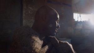 Capture d'écran du clip - Fear - Flee The Moon - pour l'artiste Glen Laroche - Réalisateur - Viviane Riberaigua